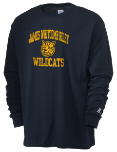 James Whitcomb Riley High School Wildcats  Russell Men's Long Sleeve T-Shirt