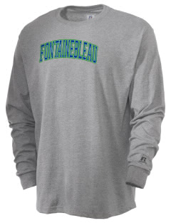 Fontainebleau Junior High School Hurricanes  Russell Men's Long Sleeve T-Shirt