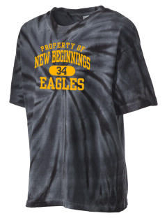 New Beginnings School Eagles Kid's Tie-Dye T-Shirt