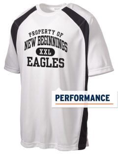 New Beginnings School Eagles Men's Dry Zone Colorblock T-Shirt