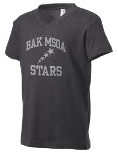 BAK Middle School Of The Arts Stars Kid's V-Neck Jersey T-Shirt