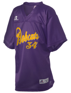 Midland Community Middle School Bobcats Russell Kid's Replica Football Jersey