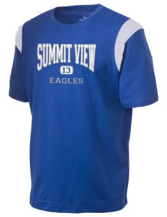 Summit View School Eagles Holloway Men's Rush T-Shirt