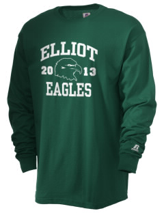 Jim Elliot Christian High School Eagles  Russell Men's Long Sleeve T-Shirt