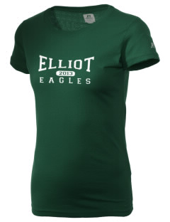 Jim Elliot Christian High School Eagles  Russell Women's Campus T-Shirt