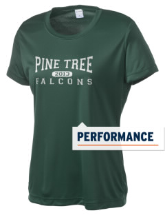 Pine Tree Elementary School Falcons Women's Competitor Performance T-Shirt