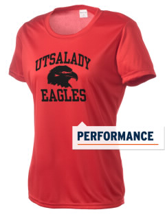 Utsalady Elementary School Eagles Women's Competitor Performance T-Shirt