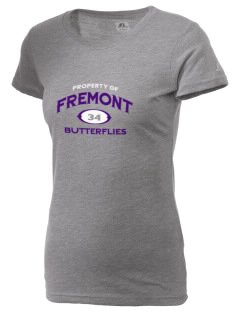 Fremont Community School Butterflies  Russell Women's Campus T-Shirt