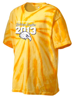 Desert Hot Springs High School Golden Eagles Kid's Tie-Dye T-Shirt
