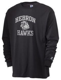 Hebron High School Hawks  Russell Men's Long Sleeve T-Shirt