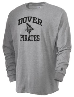Dover Middle School Pirates  Russell Men's Long Sleeve T-Shirt