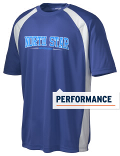 North Star Elementary School Huskies Men's Dry Zone Colorblock T-Shirt