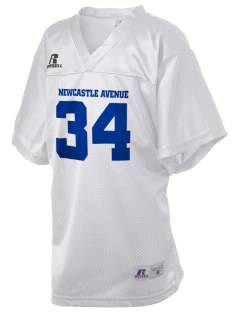 Newcastle Avenue Elementary School Newcastle Navigators Russell Kid's Replica Football Jersey