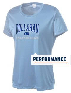 Dollahan Elementary School Dalmations Women's Competitor Performance T-Shirt
