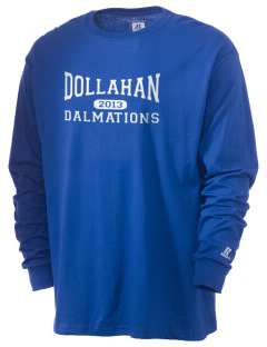 Dollahan Elementary School Dalmations  Russell Men's Long Sleeve T-Shirt