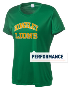Kingsley Elementary School Lions Women's Competitor Performance T-Shirt