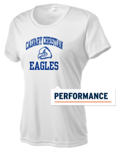 Calvary Christian School Eagles Women's Competitor Performance T-Shirt