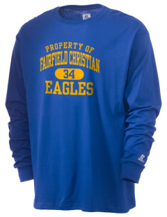 Fairfield Christian School Eagles  Russell Men's Long Sleeve T-Shirt