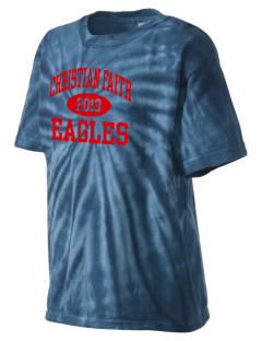 Christian Faith School Eagles Kid's Tie-Dye T-Shirt