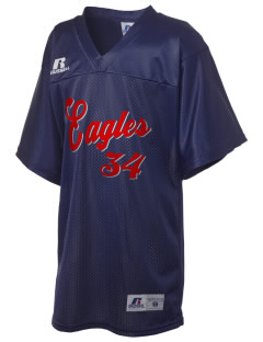 Christian Faith School Eagles Russell Kid's Replica Football Jersey