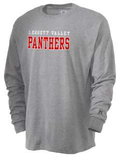 Leggett Valley School Panthers  Russell Men's Long Sleeve T-Shirt