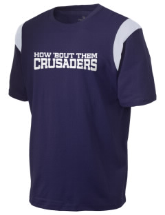 Saint John Of The Cross School Crusaders Holloway Men's Rush T-Shirt