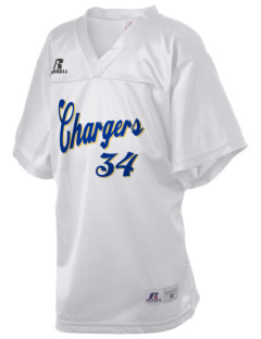 Saint Justin School Chargers Russell Kid's Replica Football Jersey