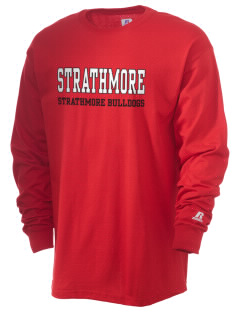 Strathmore Middle School Strathmore Bulldogs  Russell Men's Long Sleeve T-Shirt