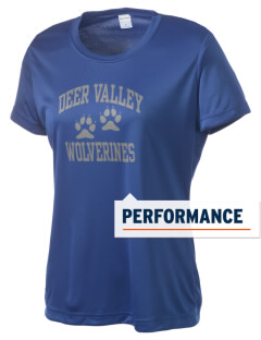 Deer Valley High School Wolverines Women's Competitor Performance T-Shirt