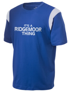 Ridgemoor Elementary School Roadrunners Holloway Men's Rush T-Shirt