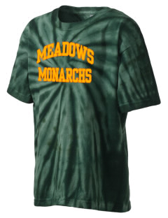Meadows Elementary School Monarchs Kid's Tie-Dye T-Shirt