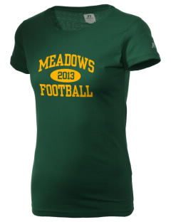 Meadows Elementary School Monarchs  Russell Women's Campus T-Shirt