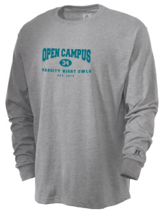 Open Campus High School Night Owls  Russell Men's Long Sleeve T-Shirt