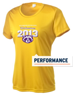 West Bend-Mallard High School Wolverines Women's Competitor Performance T-Shirt
