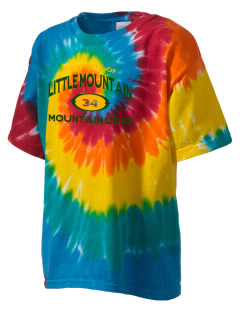 Little Mountain Elementary School Mountain Lions Kid's Tie-Dye T-Shirt