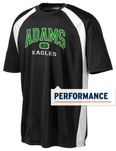 Adams Elementary School Eagles Men's Dry Zone Colorblock T-Shirt
