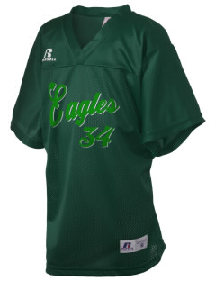 Adams Elementary School Eagles Russell Kid's Replica Football Jersey