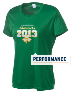 Saint Patrick High School Shamrocks Women's Competitor Performance T-Shirt