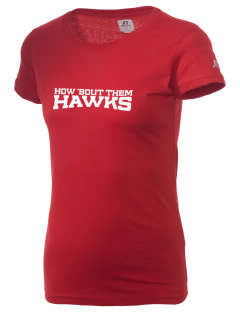 Stacy Middle School Hawks  Russell Women's Campus T-Shirt