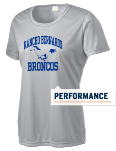 Rancho Bernardo High School Broncos Women's Competitor Performance T-Shirt