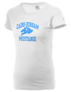 Cairo-Durham Middle School Mustangs  Russell Women's Campus T-Shirt