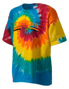 Illini Bluffs Elementary School Tigers Kid's Tie-Dye T-Shirt