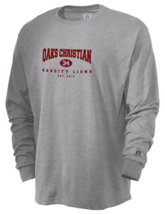 Oaks Christian School Lions  Russell Men's Long Sleeve T-Shirt