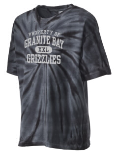 Granite Bay High School Grizzlies Kid's Tie-Dye T-Shirt