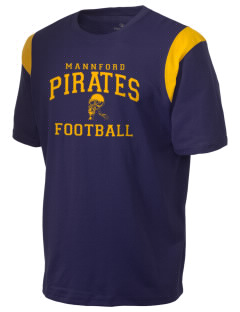 Mannford Elementary School Pirates Holloway Men's Rush T-Shirt