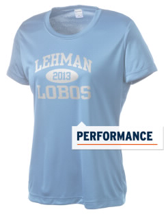 Lehman High School Lobos Women's Competitor Performance T-Shirt