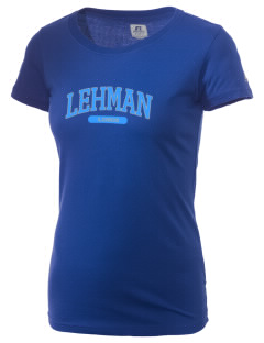Lehman High School Lobos  Russell Women's Campus T-Shirt