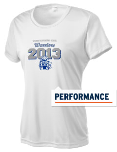 Wickes Elementary School Warriors Women's Competitor Performance T-Shirt