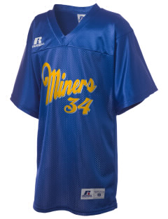 Beulah High School Miners Russell Kid's Replica Football Jersey
