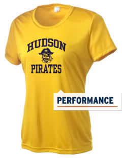 Hudson Community School Pirates Women's Competitor Performance T-Shirt